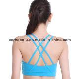 Sujetador al por mayor de la aptitud de la yoga de la camiseta de las mujeres de la alta calidad