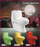 거치되는 지면을%s 가진 세라믹 색깔 Siphonic 한 조각 화장실 -