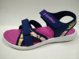 Mädchen-Sommer-Sandelholz-Blumen-Druck-Kind-Schuhe
