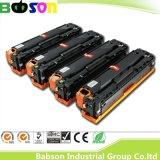 HPカラーCp1210/1215/1510/1515/1518のための本物CB540A CB541A CB542A CB543A HP 125A長命OPC Durmカラートナーカートリッジ