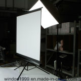 """4: """" beweglicher Projektor des Stativ-3 84 ziehen Projektions-Bildschirm mit preiswertem Preis hoch"""