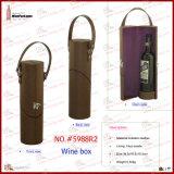 PUの革単一のびんのワインのホールダー(5988)