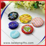 Pin를 가진 선물 주석 기장 /Button 선전용 기장 또는 금속 기장