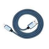 Câble usb micro de Pin du tissu en nylon 5 pour le téléphone