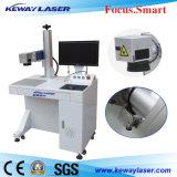 máquina da marcação do laser da fibra 20W para o aço inoxidável