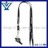 끈 (SYJD-03)를 가진 고품질 육군 경찰 플라스틱 호각