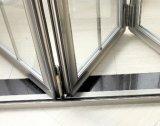 Portello di piegatura Bifold interno del giardino di alluminio per il giardino
