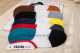 Le panneau chaud de mode d'homme de vente cogne des chaussettes de coton de coupure du bas avec le talon de gel de Silicion