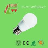 La lampe E27 d'effet de DEL chauffent l'ampoule du watt DEL de la lumière 15