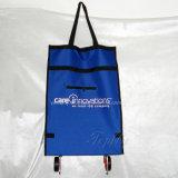 Grande portance de sac à provisions pliable avec des roues