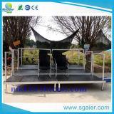Aluminium baut Zuschauertribüne-Stadion-Zuschauertribüne-Sport-Sitz zusammen