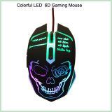 Maus des 10% Rabatt-kühler Entwurfs-bunte LED verdrahtete optische Spiel-6D (M-65)