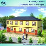 Zwei Geschoß Eco modulares vorfabriziertes Gehäuse für lebende Viertel