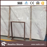 China Domestic White Marble Slab para Wall Decoration