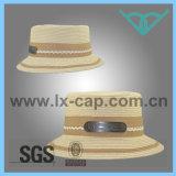 100% del sombrero de paja de papel