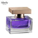 botella de perfume decorativa del casquillo Shaped de Surlyn del cubo 50ml