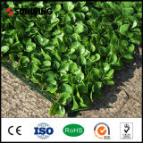 Großhandelsgarten-Dekor-preiswerterer künstlicher Pflanzenplastikzaun draußen