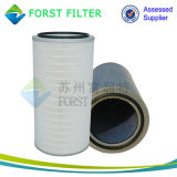 Elemento do cartucho de filtro de ciclone de borracha Forst Dust