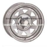 Гальванизированная оправа колеса трейлера шлюпки стальная