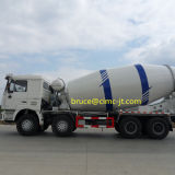 Camion della miscela di calcestruzzo di Shacman F3000 8X4