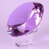 Fournir n'importe quel diamant en cristal coloré de taille