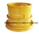 ブルドーザーのための頑丈なダンプトラックの車輪、鋼鉄OTRの車輪(25-19.50/2.5)およびポート