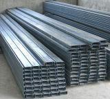 Purlin do aço C Z para as casas/armazéns estruturais de aço