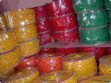 حمراء & أبيض لون [50م] طول خطوة سلسلة بلاستيكيّة ([بك-4])