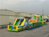Nuovo Arrival Inflatable Forest Obstacle Course da vendere