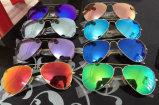 Occhiali da sole di modo del metallo polarizzati progettista caldo di marca di vendita per l'uomo/donna
