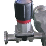 Stainless sanitario Steel Manual Diaphragm Valve per Pharma (YNF)