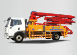 A8 Concrete Placing Boom Pump с Concrete Mixer