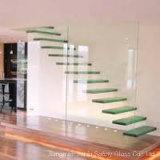 Verre feuilleté pour des escaliers en résidence ou villa