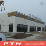 Construction modulaire préfabriquée construite par la structure métallique
