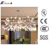 Europäisches dekoratives weißes Acrylblatt-Leuchter-Licht