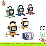 2 anni di Warranty Top Quality High Efficiency Portable Rechargeable LED Flood Light 10W