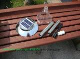 Éclairage LED solaire au sol de jardin