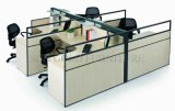 높은 분할 (SZ-WS312)를 가진 고전적인 상업적인 사무용 가구 4-Seater 워크 스테이션