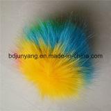 Esfera Multi-Color da pele POM POM do falso para o pendente do saco e do telefone móvel