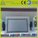 Im Freiendj-Ereignis-Leistungs-Bildschirmanzeige, die LED-Bildschirm-Torpfosten-Binder hängt