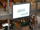 Grand panneau d'Afficheur LED de la cornière de vue de RVB P4.81 pour le centre commercial