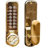 Levier Lock Door Handle Mortise Lock Gold Color (3700PB)
