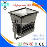 Poder superior luz de inundação do diodo emissor de luz de 500 watts, luz do ponto do diodo emissor de luz
