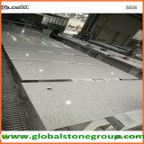 Dessus gris artificiels de pierre de quartz pour le banc de bagage d'hôtel