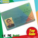 Carte en plastique de fidélité d'impression de système Fudan FM08 de fidélité
