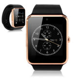 Montre-bracelet intelligente de montre d'appareil-photo de montre de Bluetooth de téléphone de montre avec l'appareil-photo, carte SIM