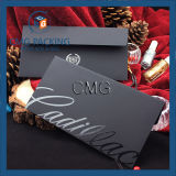 Weißer kundenspezifischer Weißbuch-Verpackungs-Sahneumschlag (CMG-ENV-014)