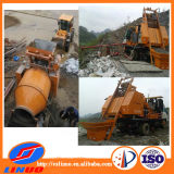 C3 Hydraulic Concrete Pump avec Drum Mixer
