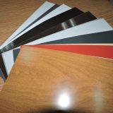 Superfície de madeira da bobina de alumínio do revestimento da cor