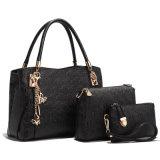 어깨에 매는 가방 핸드백 3 PCS 고정되는 여자 숙녀 패션 디자이너 핸드백
